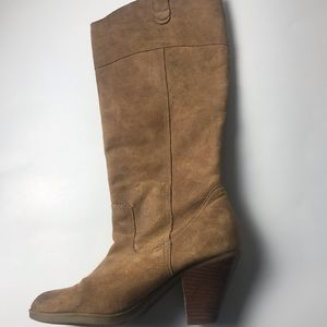 Women Report Suede Knee High Boots Size 9